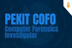 PEKIT CoFo – Computer Forensics Investigator