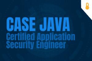 CASE JAVA - Certified Application Security Engineer